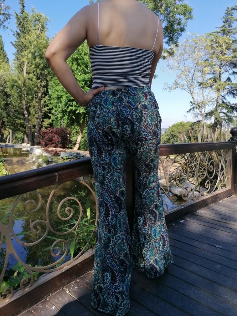 İspanyol Paça Zara Model Pantalon