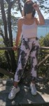 Batik Desen Pamuklu Eşofman Altı