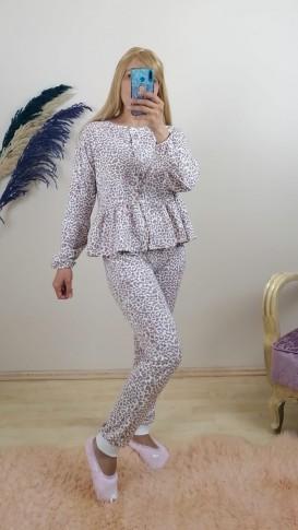 Pijama Takım - Bej